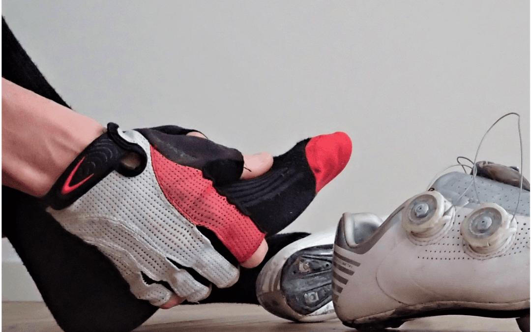 Fastidi e dolori in bicicletta: il piede
