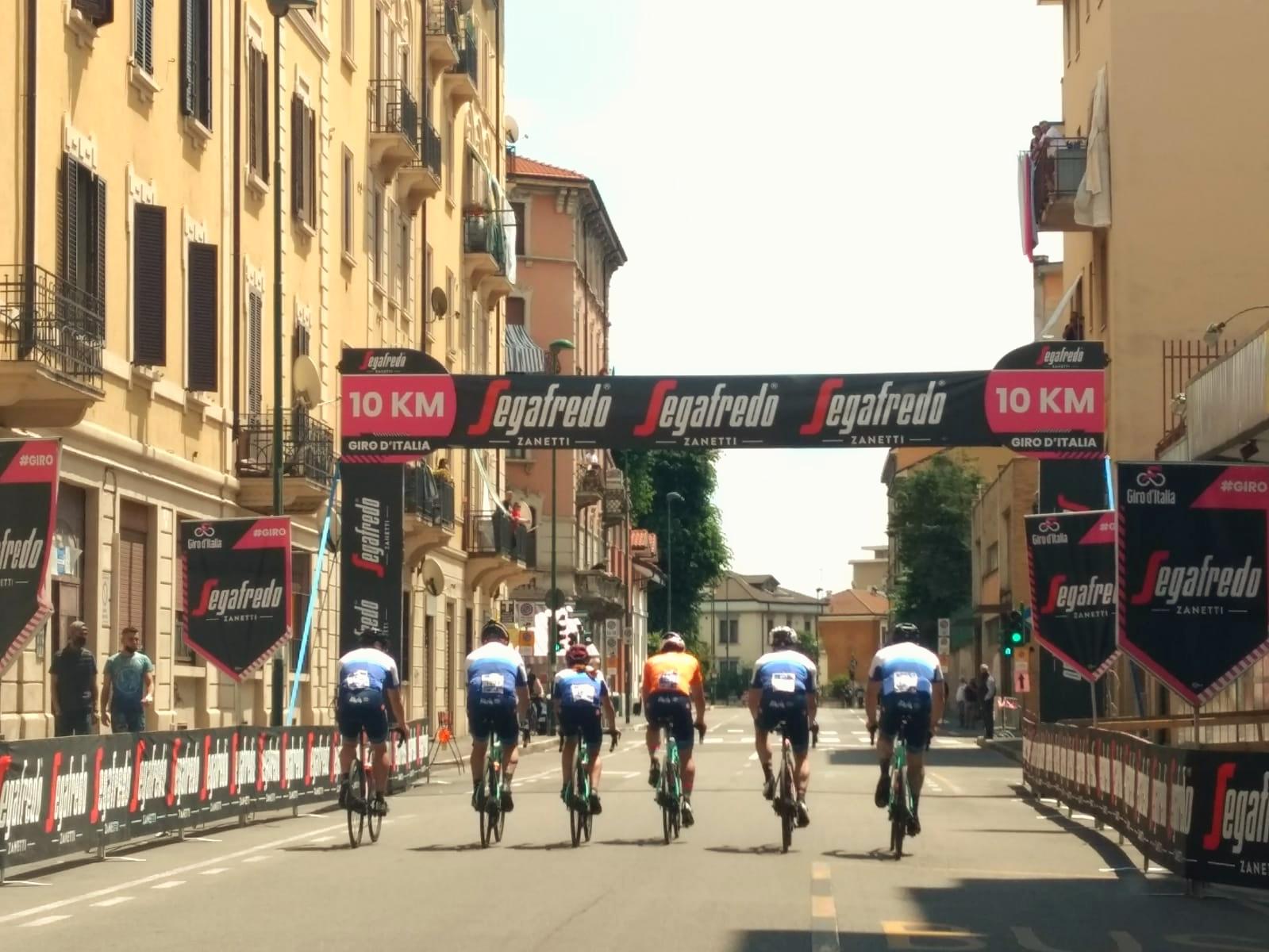 Giro E partenza